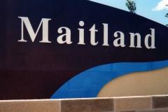 Maitland Signage