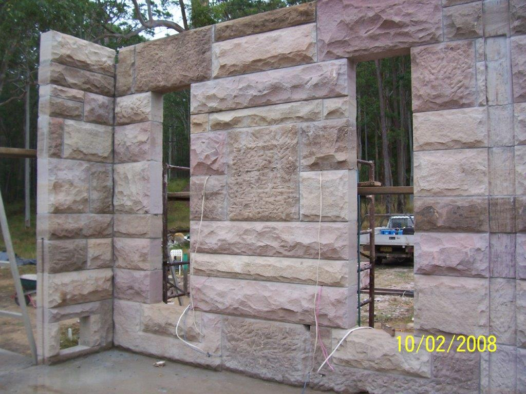 hand quarried stone blocks