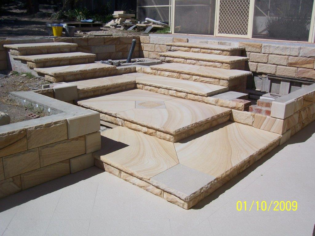 steps with risers
